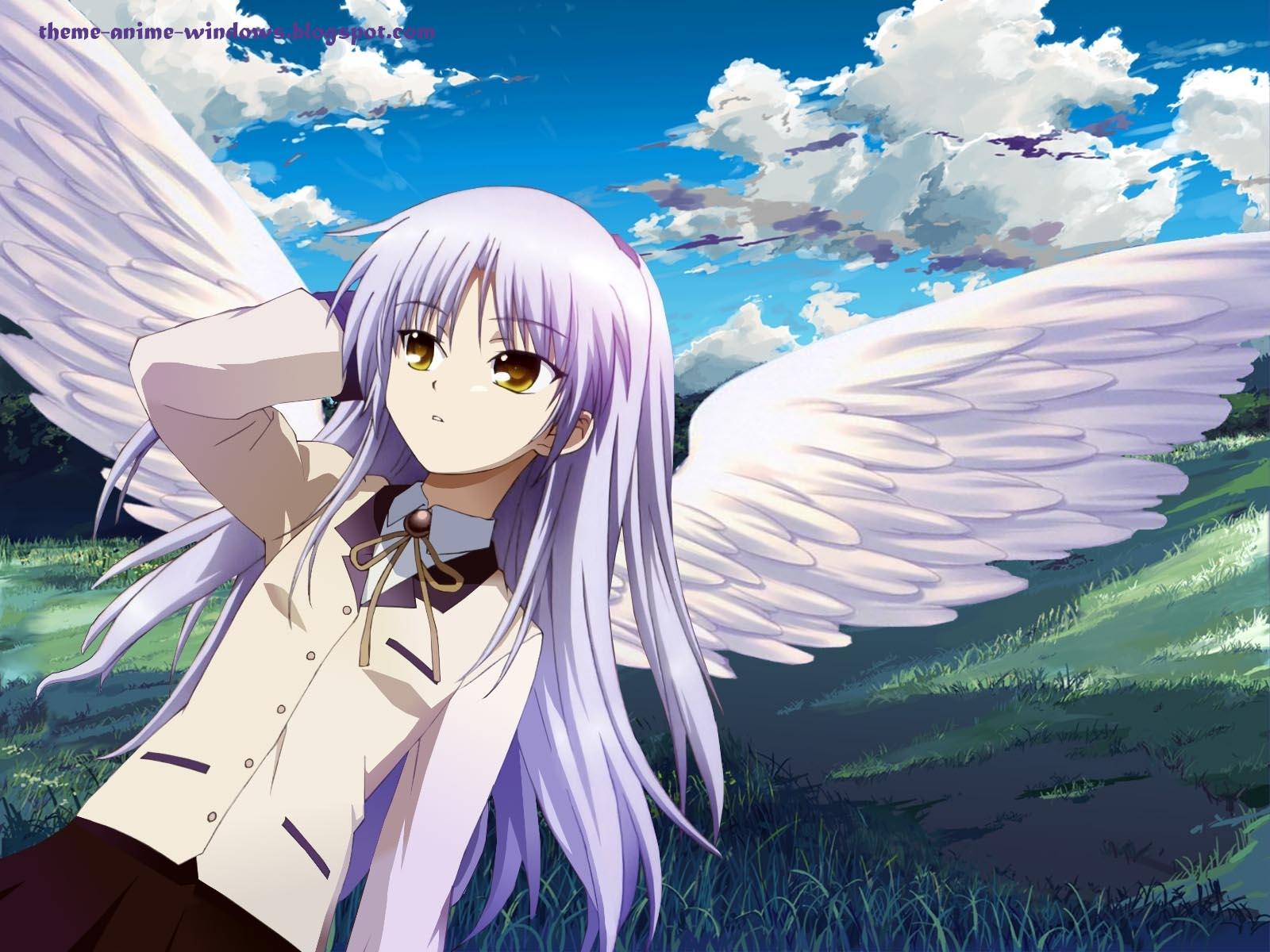 Angel Beats Op theme anime windows – angel beats – تحميل ثيم للأنمي الرئع
